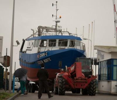 """Construção de barco arrasto costeiro """"Costa Norte"""""""