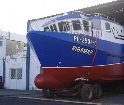 """Construção de barco arrasto costeiro """"Ribamar"""""""