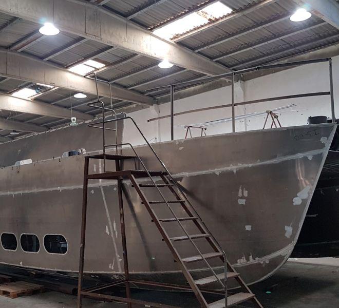 Catamaran aluminio 2