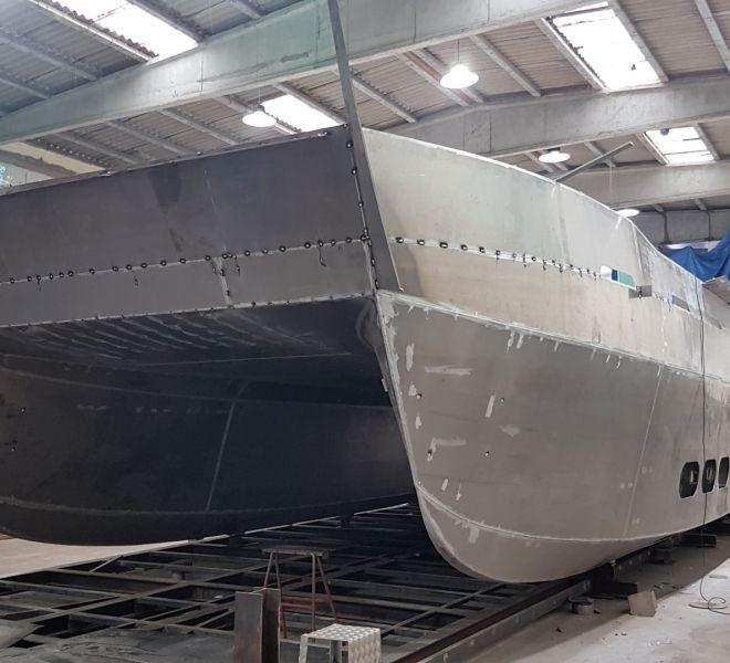 catamaran aluminio 5