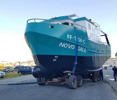 """Construção de barco arrasto costeiro """"GALA"""""""